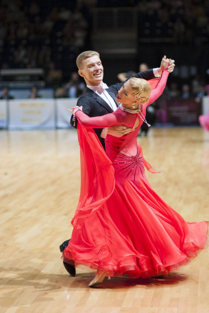 Viennese Waltz X on Basic Ballroom Dance Steps